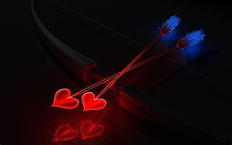 valentines day arrow valentines day cupid arrow wallpaper high definition