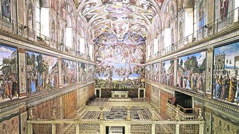 imagenes ocultas en la capilla sixtina arquinoticias octubre 2012