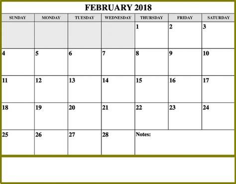 free editable calendar templates 2018 free february 2018 calendar editable printable template