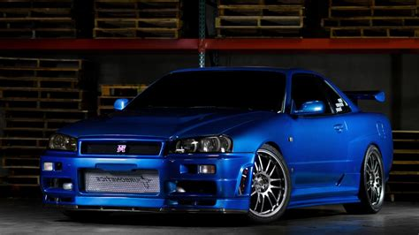 nissan r34 black nissan skyline gtr r34 desktop hd wallpapers cars