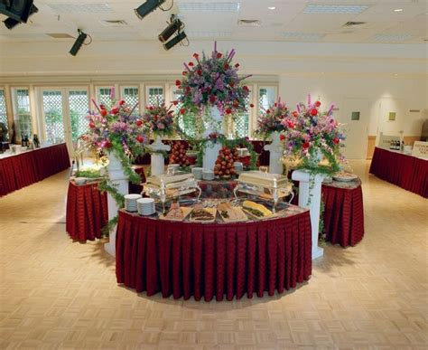 buffet table setting arrangement best 25 buffet table settings ideas on how to