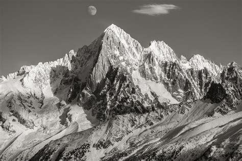 Oneck Ls Noir Sur Blanc la montagne en noir et blanc jerome obiols photographie