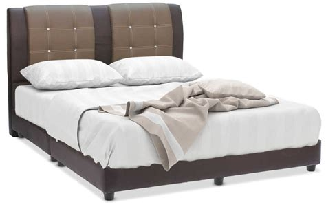 tania couch tania faux leather bed frame furniture home d 233 cor