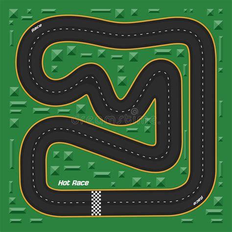 Cartoon Race Track Www Pixshark Com Images Galleries