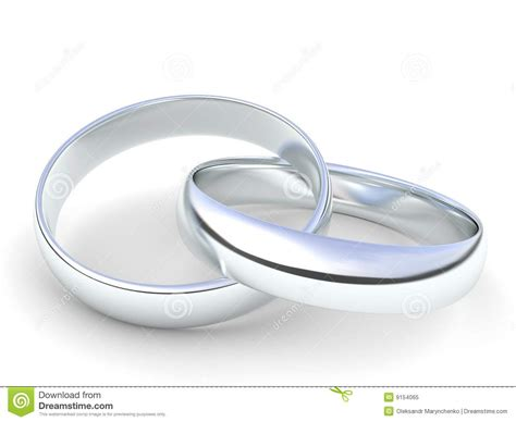 Ringe Silberhochzeit by Silver Wedding Rings Royalty Free Stock Photo Image 9154065