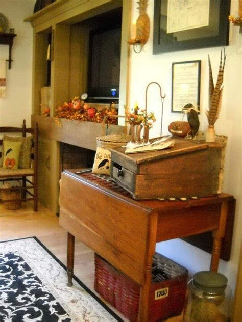 primitive furniture and arrangement country decorating