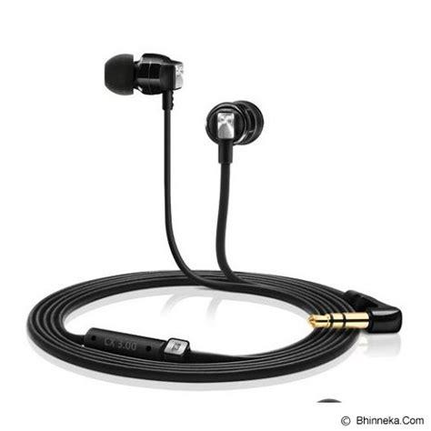 Jual Headset Sennheiser Murah jual sennheiser earphone cx 3 00 black murah bhinneka