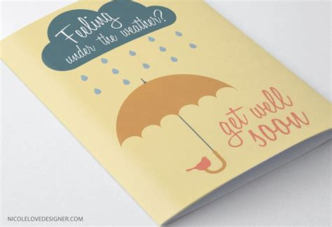 get well card template mini cards free printable get well cards and templates