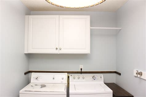Installing Wall Cabinets In Laundry Room Installing Wall Cabinets In Laundry Checking In With Chelsea