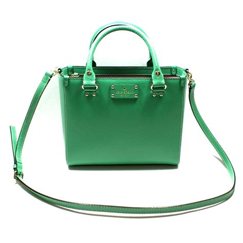 Kate Spade Your Designer Handbag Is by Kate Spade Small Quinn Wellesley Leather Satchel Handbag
