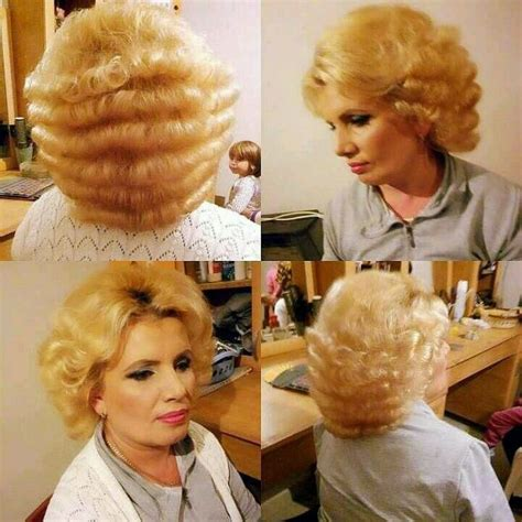 video feminine man getting a bouffant hair style 110 best images about vintage hair 2 on pinterest