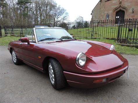 Alfa Romeo Spider 1990 1990 Alfa Romeo Spider Review