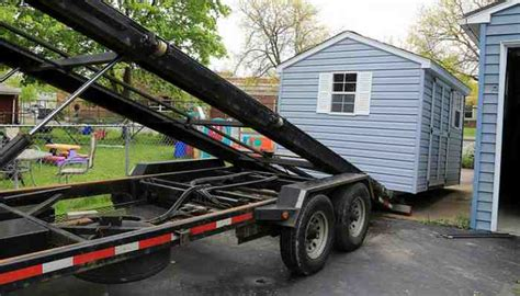 Used Shed Trailer by Storage Building Shed Movers