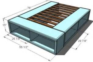 Bed Frame Designs With Storage To Diy Bed Frame With Storage