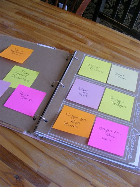 home organization binder how to create your own home management binder