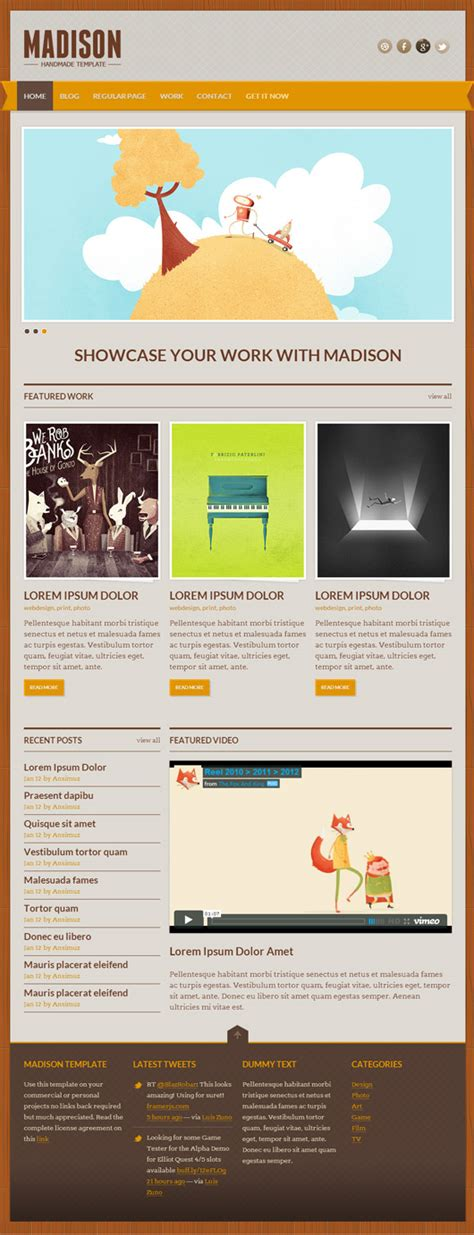Free Responsive Web Templates With Psd Freebies Graphic Design Junction Responsive Website Templates Psd Free