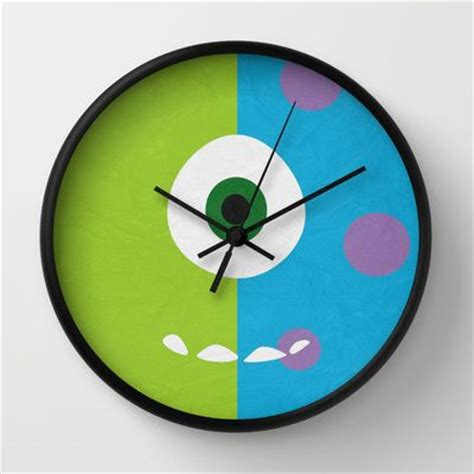 wall clock for bedroom tarowing club 141 best monsters inc kids decor images on pinterest