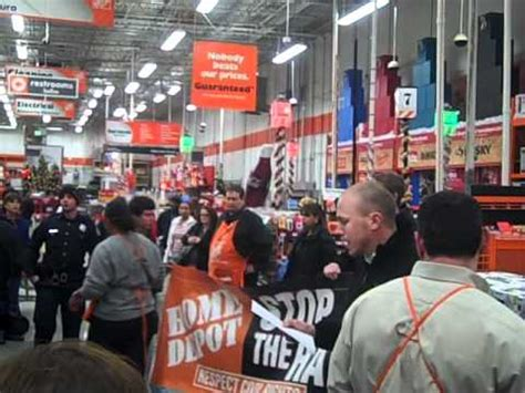 occupy atlanta mic checks home depot