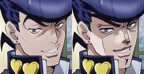 jojo anime art style if josuke was drawn in part 3 style jojo s bizarre