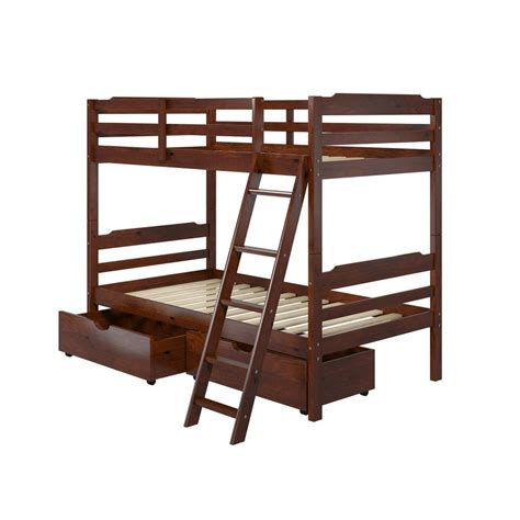 home depot bed acme furniture eclipse twin over full metal bunk bed
