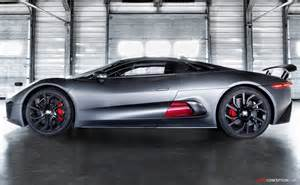 Jaguar C X75 Hybrid Supercar Price Jaguar C X75 Hybrid Supercar Prototype The Development