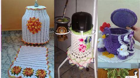 cosas para cocinar en casa accesorios para el hogar tejidos a crochet