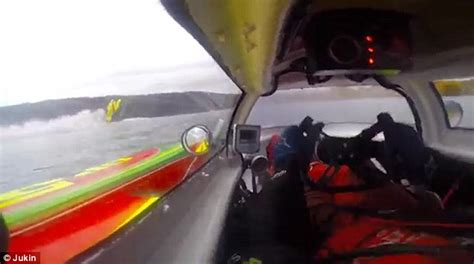 cigarette boat racing flip video shows powerboat flips 360 degrees in lake dunstan