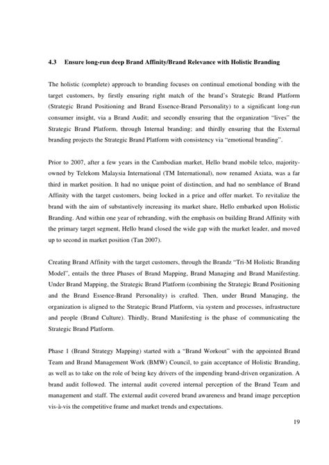 Mba Project Report On Auditing by Mba Branding Jon Brandjontan