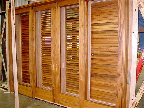 Louvered Doors Exterior Northstar Woodworks Custom Louver Doors Craftsmanship