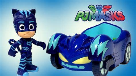 cat speed pj masks books pj masks catboy s cat car vehicle unboxing demo review