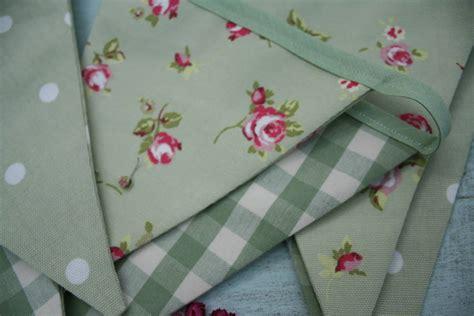 Handmade Bunting - handmade fabric bunting by primitive