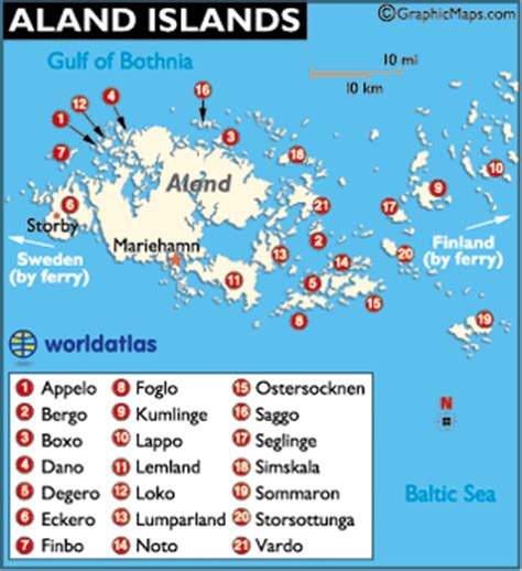 aland islands map aland islands map finland