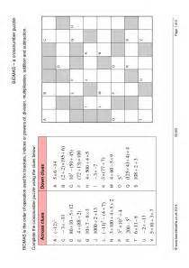 pics for gt order of operations puzzle worksheets