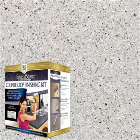 Spreadstone Countertop Kit by Daich Spreadstone Mineral Select 1 Qt Onyx Fog Countertop