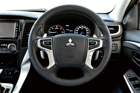 mitsubishi shogun 2016 interior all new 2016 mitsubishi pajero sport is officially