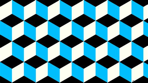 light blue black and white 3d cubes wallpapers background images
