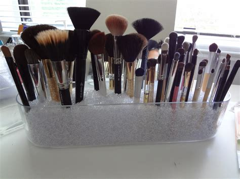 put in makeup brush holder the makeup diy makeup brush holder