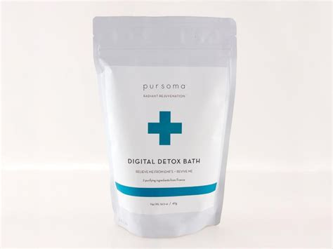 Pursoma Digital Detox Bath by Ease Into Skin Care Trend With Detox Baths Abc News