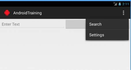 android oncreateoptionsmenu android show menu item always in support bar stack overflow