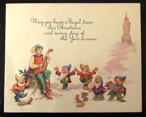 fantastic vintage disney greetings card the