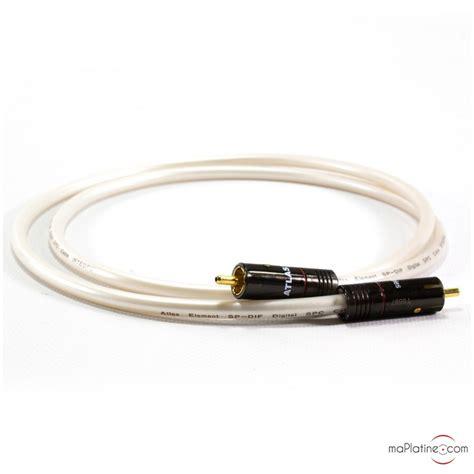 Atlas Cable Element Integra Rca 1m c 226 ble num 233 rique coaxial atlas element integra digital
