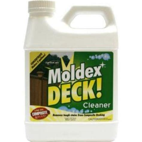 moldex deck concentrated cleaner discontinued 4900 the
