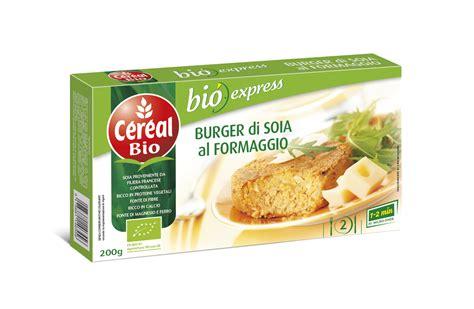 Bio Di c 233 r 233 al bio presenta il burger di soia al formaggio