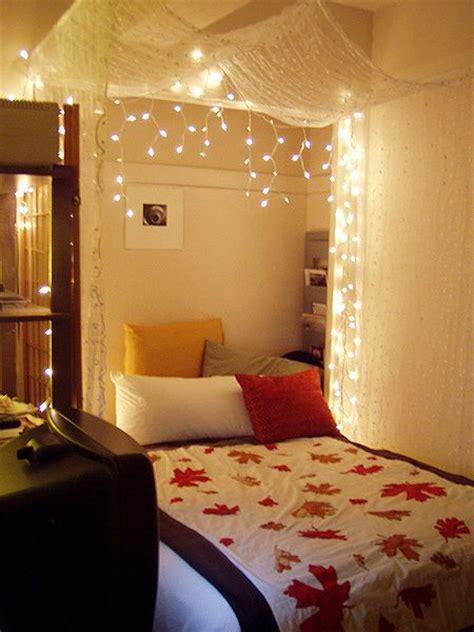 string lights ideas   bedroom