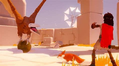 escaping  giant bird  rime gamespot
