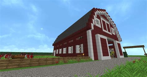 scheune in minecraft diy blueprints for a barn in minecraft plans free