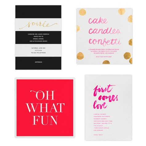Paperless Post by Paperless Post X Sugar Paper Stationery Home Accessories