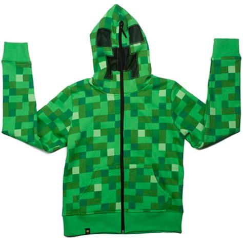 Hoodie Zipper Sweater Lego Premium6 minecraft creeper premium zip up youth hoodie official merchandise xbox 360 ebay