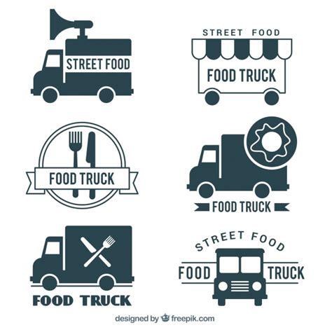 Free Food Truck Logo Design | food truck logo design vector free download