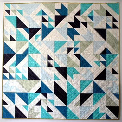 Triangle Patchwork Quilt Patterns - 37 best images about magic number quilts on